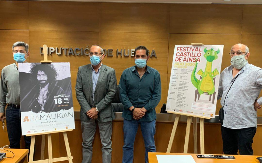 El Festival del Castillo de Aínsa redobla esfuerzos para celebrar su trigésimo cumpleaños en medio de la pandemia